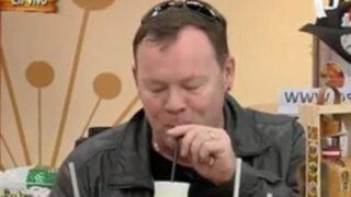 Ali Campbell desayuna en Entre Tú y Yo