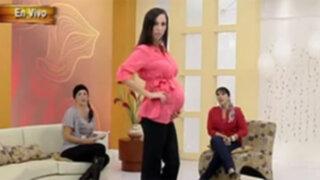 Lo último de la moda en ropa de maternidad