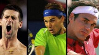 Djokovic, Nadal y Federer favoritos para ganar el Roland Garros