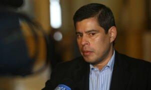 Galarreta: No soy corrupto ni delincuente para que intercepten mi teléfono