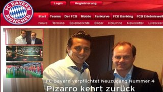 VIDEO: Bayern Munich confirma fichaje de Claudio Pizarro