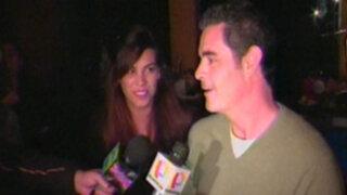 Julián Legaspi confiesa su amor por arequipeña Aída Martínez