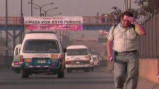 Peatones provocan el 80% de las muertes en las pistas de Lima
