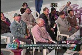 Panamericana Televisión continúa campaña de inscripción de fonavistas a página web