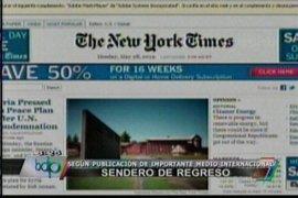 Sendero Luminoso en publicación de diario The New York Times