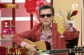 Palito Ortega en exclusiva presentación en Entre Tu y Yo