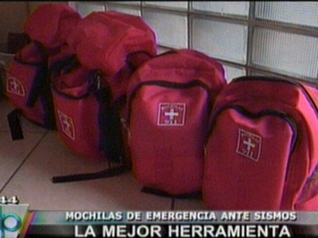 VIDEO: Aprendiendo a preparar mochilas de emergencia