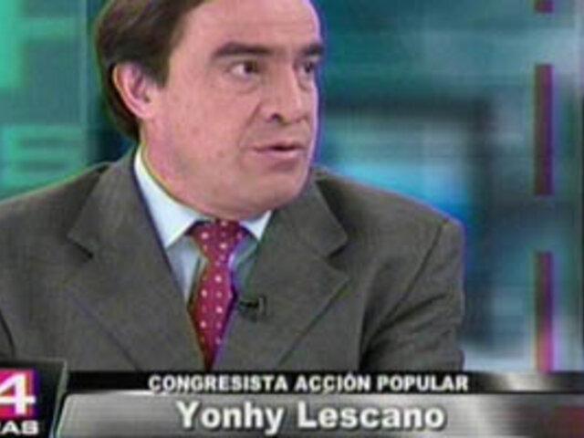 Congresista Lescano critica sistema de inscripción al  Fonavi