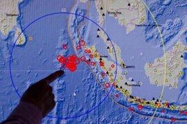 Sismo de 5.8 grados en la escala de Richter sacude Indonesia