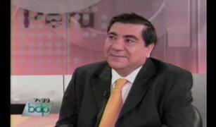 Ex viceministro Víctor García comenta medida de estado de emergencia en Espinar