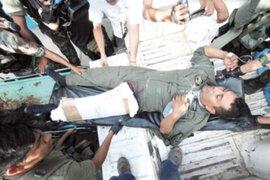 Policía herido en el VRAE pide ayuda para pagar deuda con clínica
