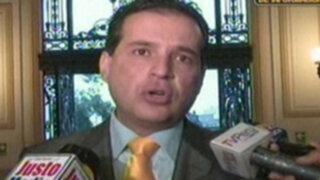Omar Chehade: Respeto la Constitución del 93, siempre lo he hecho