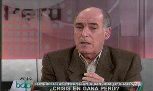 Carlos Tapia: Renuncia de Verónika Mendoza es un golpe al Nacionalismo