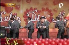 Fantástico show de Cumbia 5 en Panamericana Televisión