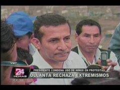 Ollanta Humala: Sí es posible la Gran Transformación pero sin extremismos
