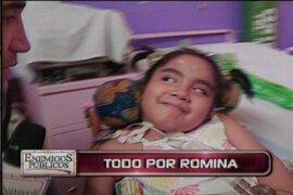 Romina Cornejo se alista para someterse a la terapia electromedular