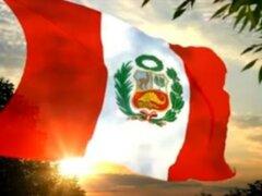 """Peruanos celebran hoy el """"Día de la Jura de la Bandera"""""""