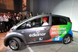 Presentan el primer auto eléctrico en el Perú, que evita la contaminación