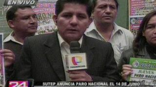 Representante de la Apafa califica de política paralización de maestros