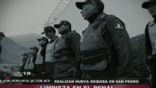 Hallan armas, celulares y laptops en nueva requisa en penal San Pedro