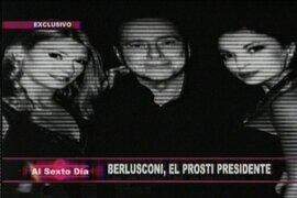 "Berlusconi, ""el prosti presidente"""