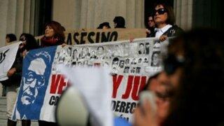 Chile: 70 detenidos y varios heridos durante homenaje a Pinochet