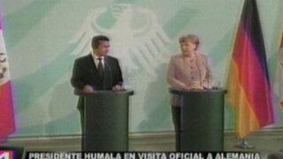 Angela Merkel quiere TLC entre Perú y la Unión Europea