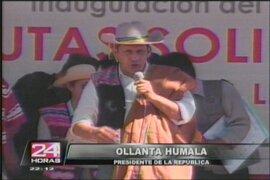 Presidente Humala: Crisis internacional debe favorecer turismo en el Perú