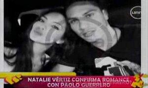 Miss Perú Natalie Vértiz confirma que sale con Paolo Guerrero