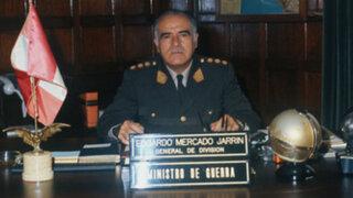Murió exgeneral Edgardo Mercado Jarrín a los 93 años