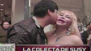 Susy Díaz vende besos para cancelar deuda de S/. 100.000 al Estado