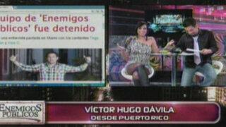 Víctor Hugo Dávila informa que incidente en aeropuerto fue superado