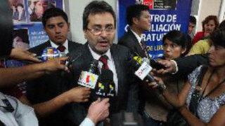 Ministro Jiménez: Dirigentes antimineros de Cajamarca no deben llegar a extremos