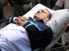 Hosni Mubarak clínicamente muerto tras ataque cerebral