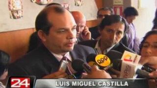 Ministro Castilla: Caída del dólar se debe a la crisis en España