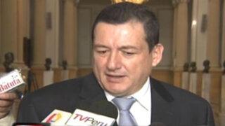 Congresista Reátegui lamentó blindaje del oficialismo a Alejandro Toledo