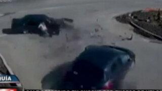 Violentos accidentes de tránsito en Turquía, China y Brasil