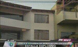 Vecinos de La Molina alarmados por explosión de granada artesanal