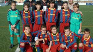 España: Club Barcelona desata la polémica al  fichar a dos niños
