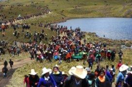 Construcción de reservorio de agua en Cajamarca seguirá pese a amenazas