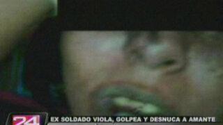 Exsoldado viola, golpea y desnuca a joven en Ventanilla