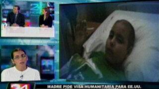 Madre de niño con tumor cerebral pide ayuda para intervenirlo en EE.UU.