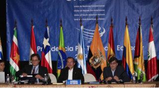Presidentes de Unasur se reúnen para evaluar situación política en Paraguay