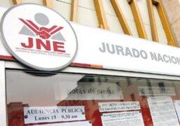 JNE cancela inscripción de 12 partidos políticos