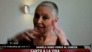 Daniela Romo: Cualquier enfermedad no es cuestión de suerte sino de muerte