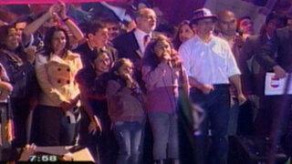 Ollanta Humala celebró cumpleaños número 50 con salsa, rock y huayno