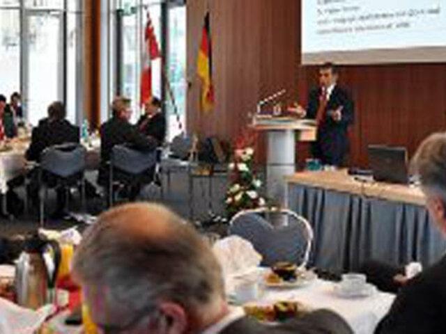 Ollanta Humala pide a empresarios alemanes aumentar inversiones en Perú