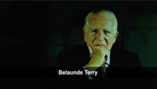 Convocan a concurso literario inspirado en la vida de Fernando Belaunde Terry