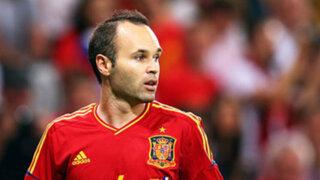 Español Andrés Iniesta fue elegido  el mejor jugador de la Eurocopa