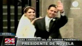 Presidente de telenovela: Enrique Peña Nieto gana apelativo por su conocida esposa